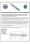 Post-Doctoral Research Fellow in Cancer Proteomics