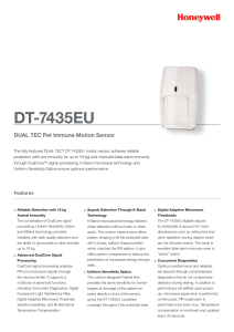 DT-7435EU - Honeywell Security