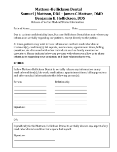Dental Records Release Form