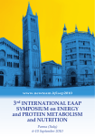 3rd INTERNATIONAL EAAP SYMPOSIUM on ENERGY and