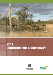 kit 1 condition for biodiversity