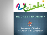 the Green Economy - Government of Gibraltar