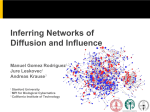 Inferring Networks of Diffusion