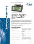 Model 280 CPM Charged Plate Monitor