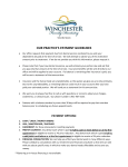 Practice Payment Guidelines - Winchester Family Dentistry