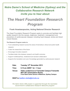 The Heart Foundation Research Program