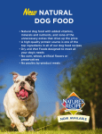 New NATURAL DOG FOOD - Stater Bros. Markets