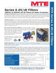 Series A dV/dt Filters
