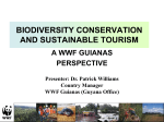 BIODIVERSITY CONSERVATION AND SUSTAINABLE TOURISM