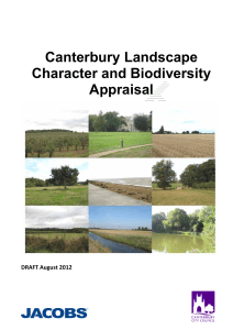 Canterbury Landscape Character and Biodiversity Appraisal