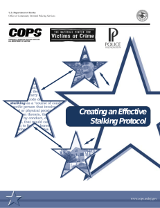Creating an Effective Stalking Protocol