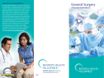General Surgery - Kennedy Health Alliance