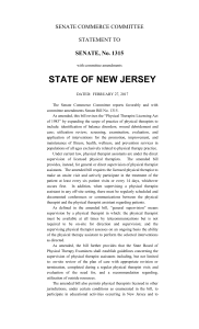 state of new jersey - New Jersey Legislature