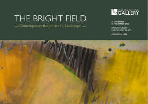 The BrighT field - Anthony Whishaw
