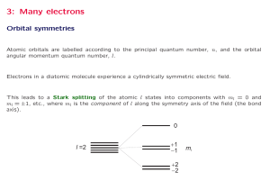 3: Many electrons