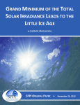 Grand Minimum of the Total Solar Irradiance Leads to the Little Ice Age