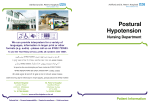 Postural Hypotension - ashfordstpeters.info