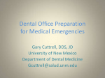 Dental Office Preparation