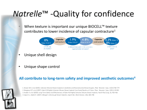 Natrelle™ -Quality for confidence