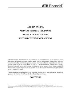 atb financial medium term notes/bonds bearer