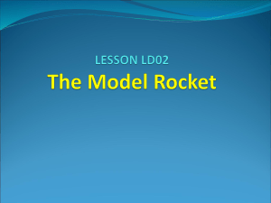 STEM Lesson #LD02 The Model Rocket