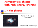 Gamma-Ray Astroparticle Physics