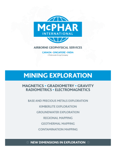 MINING ExPLORATION - McPhar International