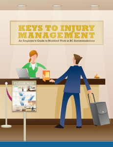 keys to injury management