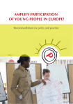 amplify participation of young people in europe!