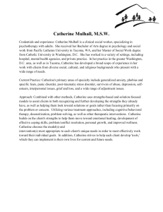 Catherine Mulhall, M.S.W.