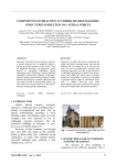 Components interaction in timber framed masonry structures