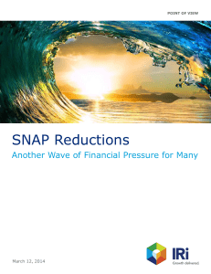 SNAP Reductions