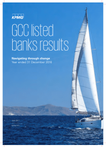 GCC listed banks results report for the year ended 31
