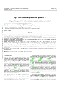 arXiv:astro-ph/0702414v1 15 Feb 2007