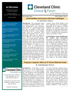 Clinical Rx Forum Volume 3 Issue 2