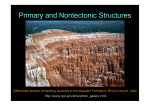 Primary and Nontectonic Structures