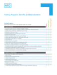 Fronting Programs: Benefits and Considerations