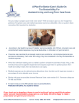 Tax Deductibility Of Senior Care Charges