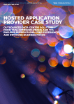 hosted application provider case study