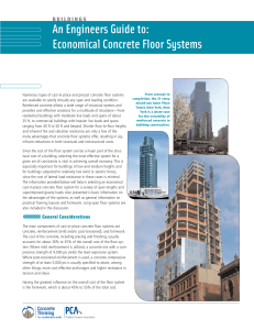 IS063 Floor Systems - The Portland Cement Association