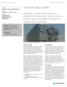 Aluminum Curtain Wall Systems, Inc.