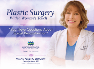 WMHS Plastic Surgery Brochure