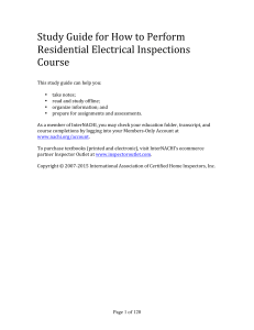 StudyGuide_Residential Electrical