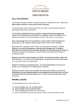 practice manager person specification