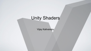 GPU Computing - Unity Shaders and General Purpose