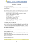 1 WAREHOUSE TECHNICIAN GENERAL RESPONSIBILITIES
