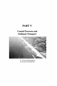 Coastal Processes and Sediment Transport