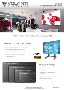Complete Video Wall System